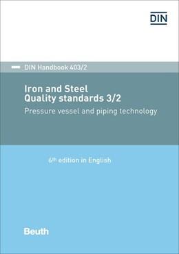 Abbildung von Iron and steel: Quality standards 3/2 | 6. Auflage | 2018 | Pressure vessel and piping tec...