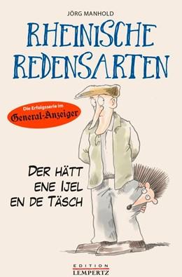 Abbildung von Manhold | Rheinische Redensarten | 2018
