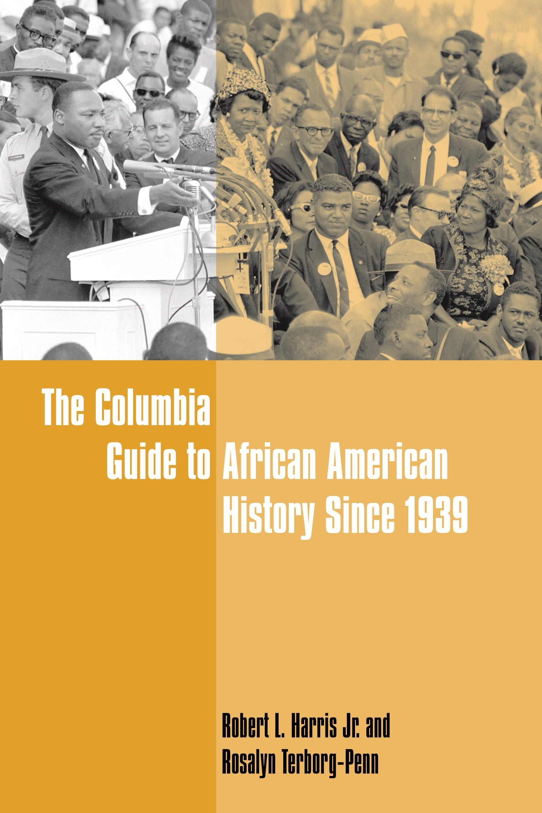 Abbildung von Harris Jr. / Terborg-Penn | The Columbia Guide to African American History Since 1939 | 2008