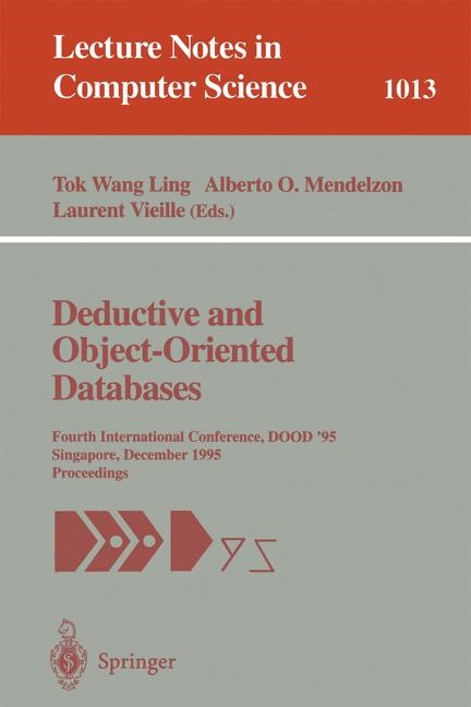 Deductive and Object-Oriented Databases | Ling / Mendelzon / Vieille, 1995 | Buch (Cover)