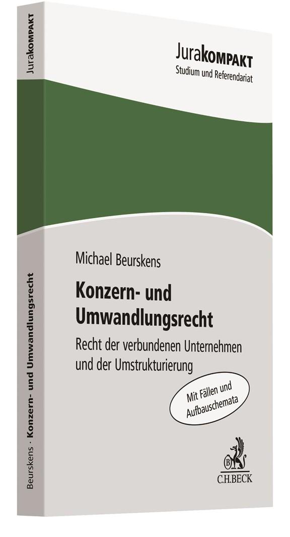 Konzern- und Umwandlungsrecht | Beurskens, 2019 | Buch (Cover)