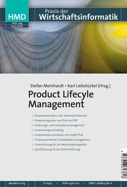 Abbildung von Meinhardt / Liebstückel   Product Lifecycle Management   2006