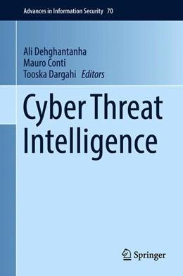 Abbildung von Dehghantanha / Conti | Cyber Threat Intelligence | 1. Auflage | 2018 | beck-shop.de