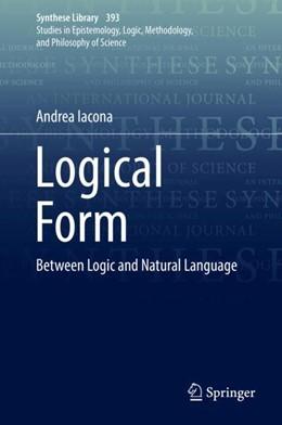 Abbildung von Iacona | Logical Form | 1. Auflage | 2018 | beck-shop.de