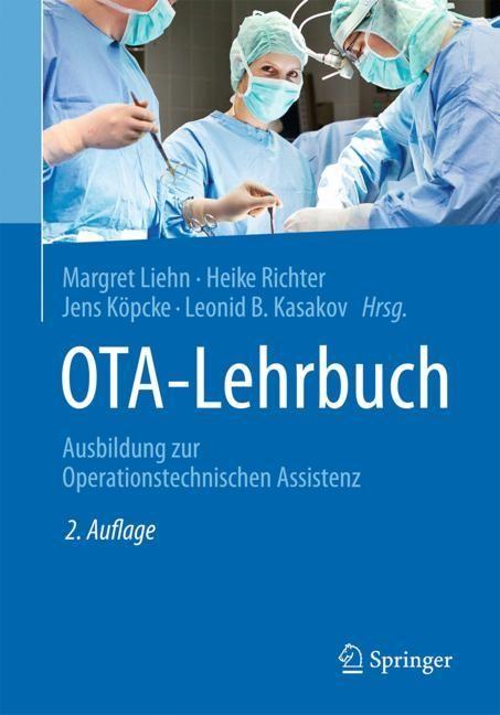 OTA-Lehrbuch | Liehn / Köpcke / Richter / Kasakov | 2., aktualisierte Aufl.age, 2018 | Buch (Cover)
