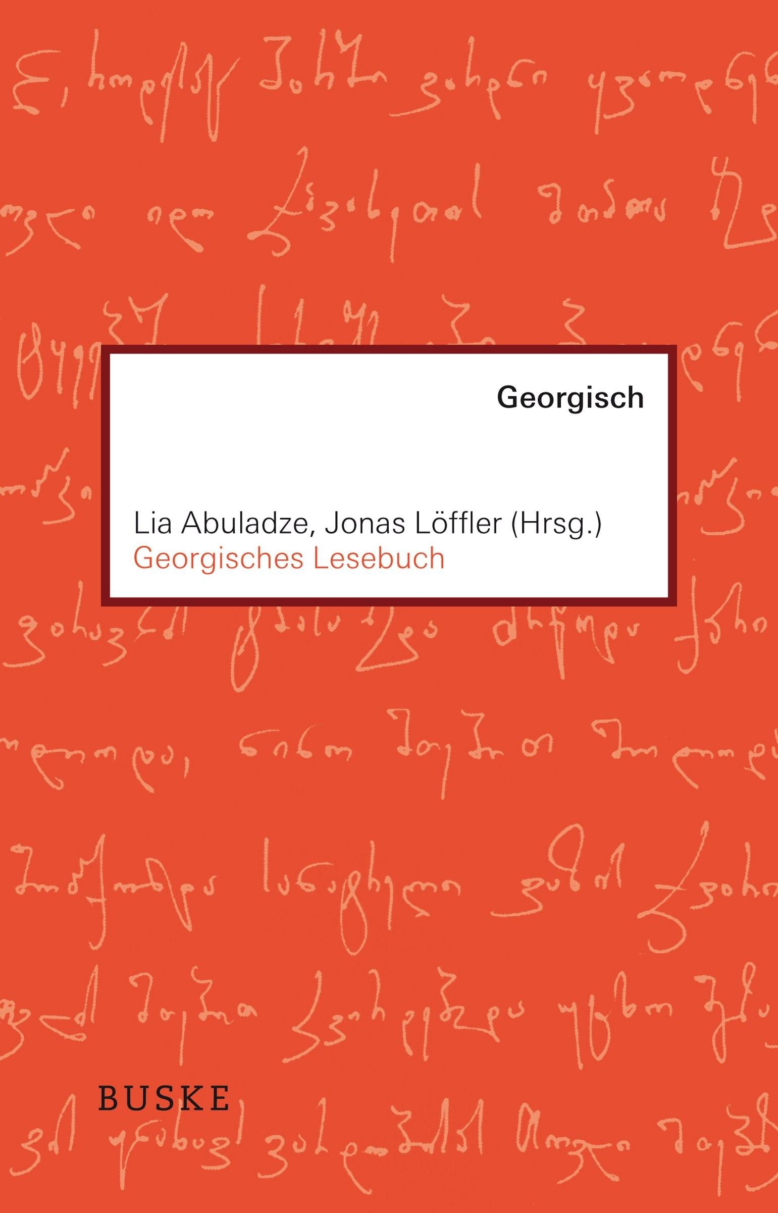 Georgisches Lesebuch | Abuladze / Löffler, 2018 | Buch (Cover)