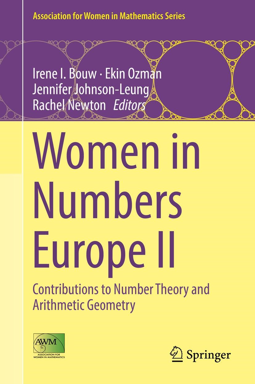 Women in Numbers Europe II | Bouw / Ozman / Johnson-Leung / Newton, 2017 | Buch (Cover)