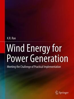 Abbildung von Rao | Wind Energy for Power Generation | 1. Auflage | 2019 | beck-shop.de