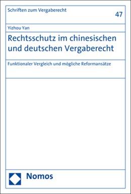 Abbildung von Yan | Rechtsschutz im chinesischen und deutschen Vergaberecht | 2018 | Funktionaler Vergleich und mög...