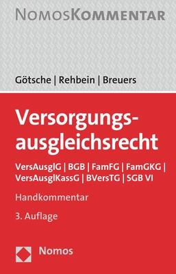Versorgungsausgleichsrecht | Götsche / Rehbein / Breuers | 3. Auflage, 2018 | Buch (Cover)