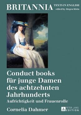 Abbildung von Dahmer   Conduct books für junge Damen des achtzehnten Jahrhunderts   1. Auflage   2018   beck-shop.de