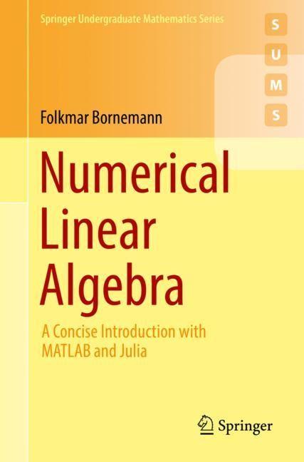 Numerical Linear Algebra | Bornemann, 2018 | Buch (Cover)