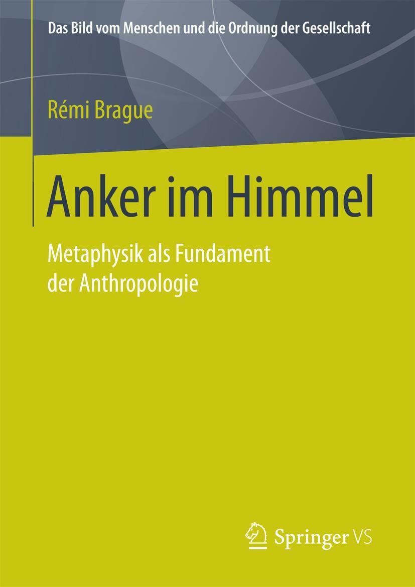 Anker im Himmel | Brague, 2018 | Buch (Cover)