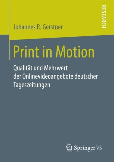 Abbildung von Gerstner   Print in Motion   2018