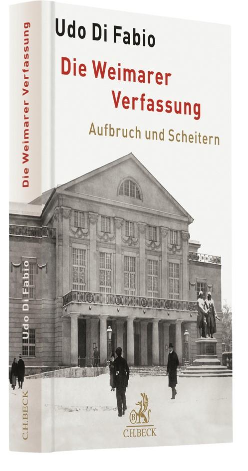 Die Weimarer Verfassung | Di Fabio, 2018 | Buch (Cover)