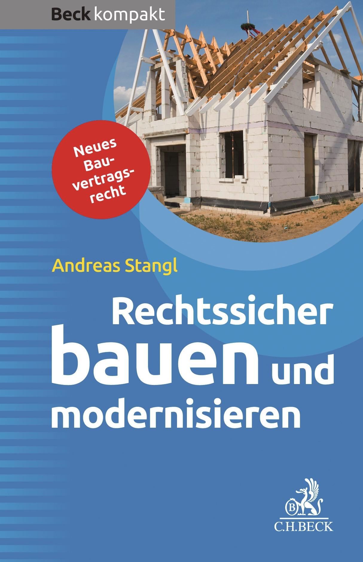 Rechtssicher bauen und modernisieren | Stangl, 2018 | Buch (Cover)