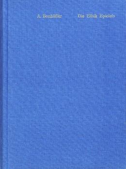 Abbildung von Bonhöffer   Die Ethik des Stoikers Epiktet   Faksimile-Neudruck der Ausgabe Stuttgart 1894   1968   Reprint