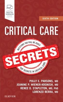 Abbildung von Parsons / Wiener-Kronish | Critical Care Secrets | 6. Auflage | 2018 | beck-shop.de