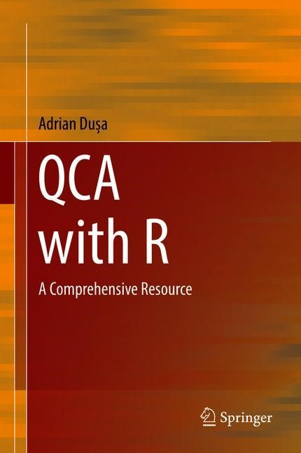 Qualitative Comparative Analysis with R   Dusa, 2018   Buch (Cover)
