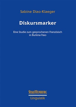 Abbildung von Diao-Klaeger | Diskursmarker | 2018 | Eine Studie zum gesprochenen F...