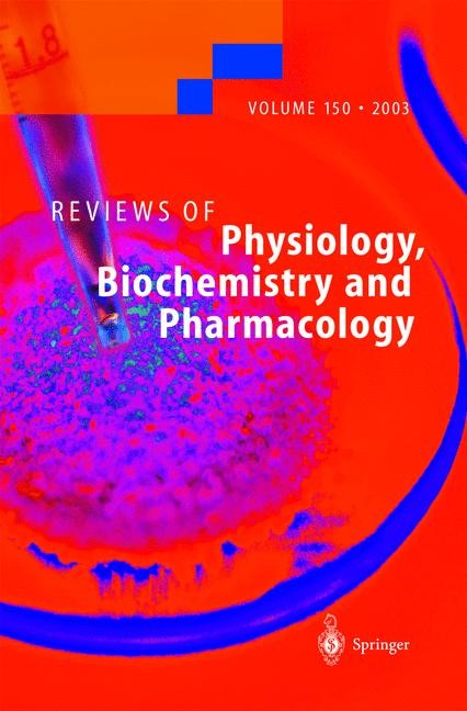 Abbildung von Reviews of Physiology, Biochemistry and Pharmacology | 2004