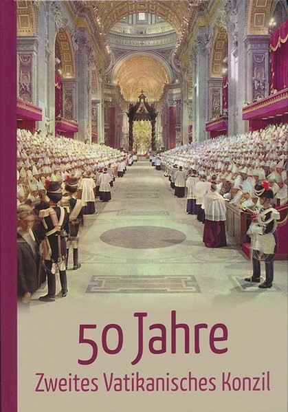 50 Jahre Zweites Vatikanisches Konzil, 2018 | Buch (Cover)