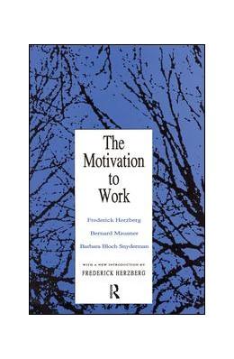 Abbildung von Herzberg | Motivation to Work | 1. Auflage | 2017 | beck-shop.de