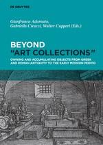 "Beyond ""Art Collections"" | Adornato / Cirucci / Cupperi, 2018 | Buch (Cover)"