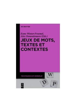 Abbildung von Winter-Froemel / Demeulenaere   Jeux de mots, textes et contextes   2018   7