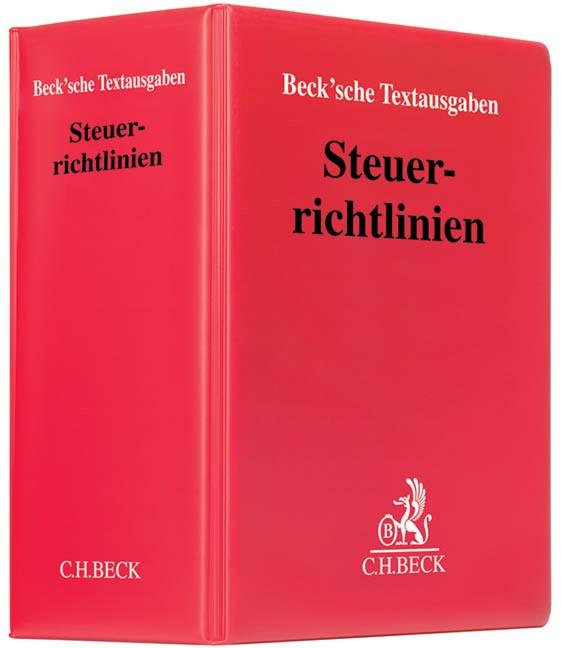 Steuerrichtlinien | 170. Auflage (Cover)