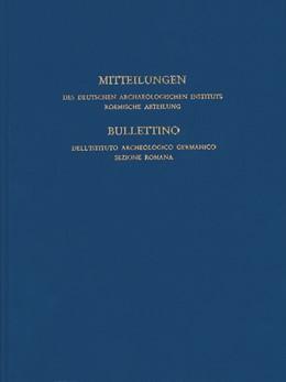 Abbildung von Deutsches Archäologisches Institut | Mitteilungen des Deutschen Archäologischen Instituts, Römische Abteilung | 2017 | Band 123, 2017 | 123