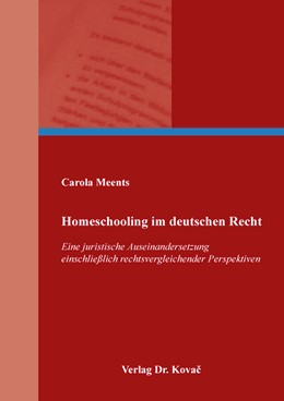 Abbildung von Meents | Homeschooling im deutschen Recht | 2018 | Eine juristische Auseinanderse... | 136