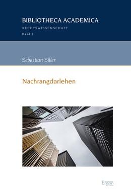 Abbildung von Siller   Nachrangdarlehen   1. Auflage   2017   beck-shop.de