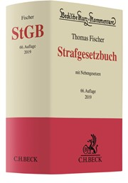 Strafgesetzbuch: StGB   Fischer   66. Auflage, 2018   Buch (Cover)