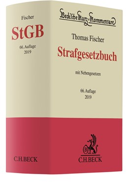 Abbildung von Fischer | Strafgesetzbuch: StGB | 66. Auflage | 2019 | mit Nebengesetzen | Band 10