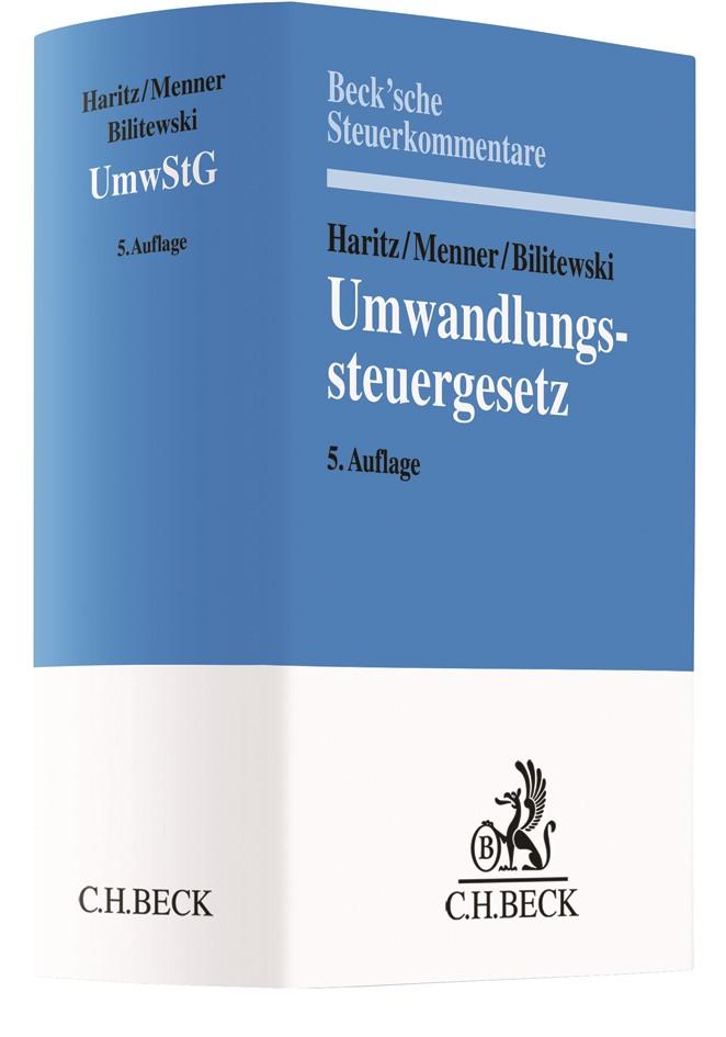 Umwandlungssteuergesetz: UmwStG | Haritz / Menner / Bilitewski | 5. Auflage, 2019 | Buch (Cover)