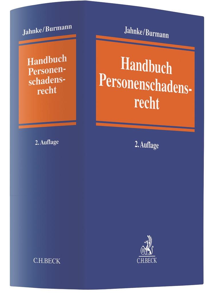 Handbuch des Personenschadensrechts | Jahnke / Burmann | 2. Auflage, 2019 | Buch (Cover)