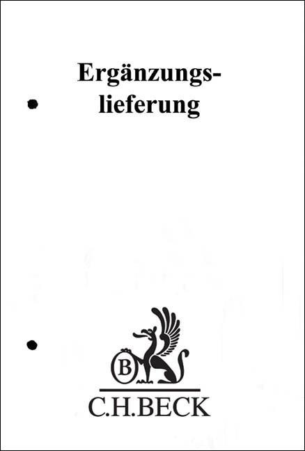 Niedersächsische Gesetze, 110. Ergänzungslieferung - Stand: 12 / 2018   März, 2019 (Cover)
