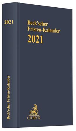 Abbildung von Beck'scher Fristen-Kalender 2021 | 1. Auflage | 2020 | beck-shop.de