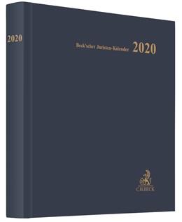 Abbildung von Beck'scher Juristen-Kalender 2020 | 2019