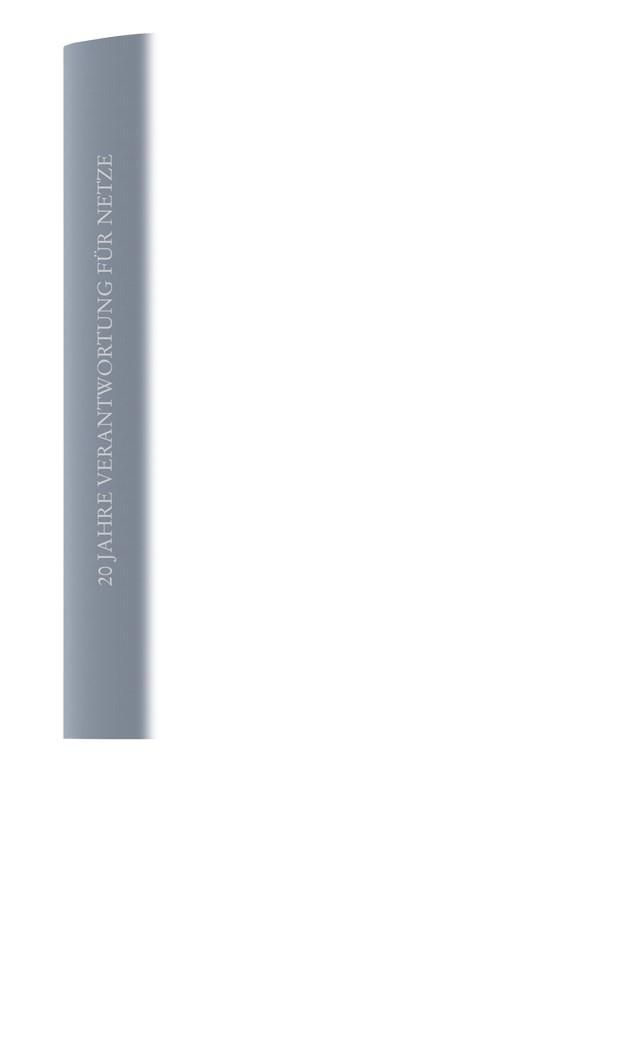 20 Jahre Verantwortung für Netze, 2018 | Buch (Cover)