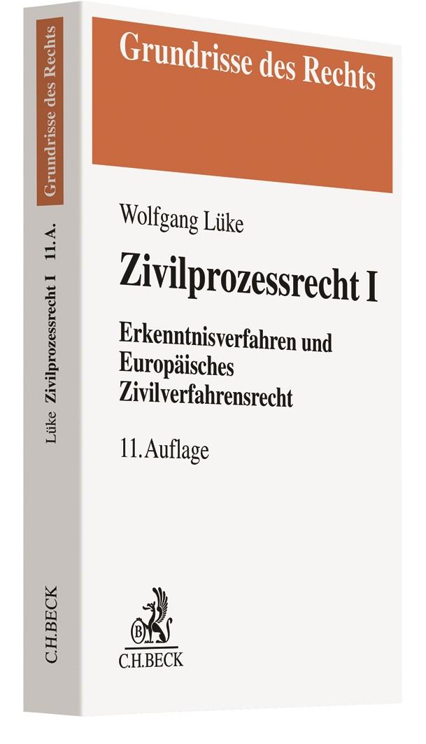 Abbildung von Lüke | Zivilprozessrecht I | 11. Auflage | 2019