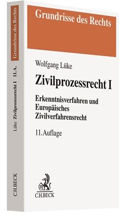Abbildung von Lüke | Zivilprozessrecht I | 11. Auflage | 2020 | beck-shop.de