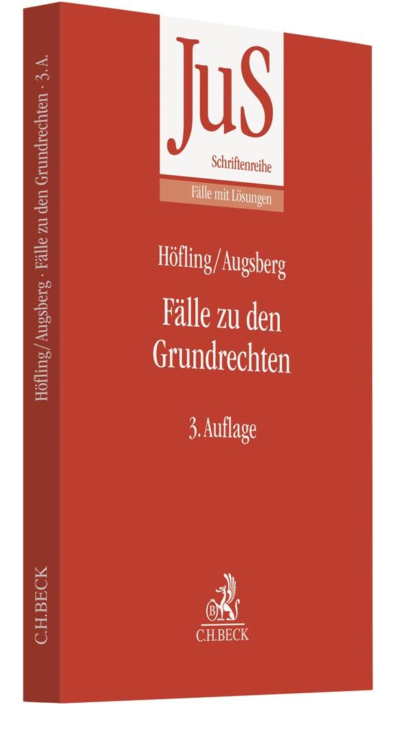 Fälle zu den Grundrechten | Höfling / Augsberg | 3. Auflage, 2019 | Buch (Cover)