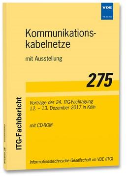 Abbildung von ITG-Fb. 275: Kommunikationskabelnetze mit Ausstellung   1. Auflage   2017   beck-shop.de