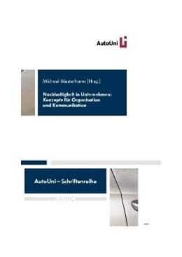 Abbildung von Mesterharm | Nachhaltigkeit in Unternehmen | 2010 | Konzepte für Organisation und ... | 8