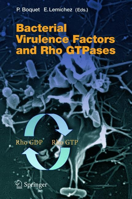 Bacterial Virulence Factors and Rho GTPases | Boquet / Lemichez, 2005 | Buch (Cover)