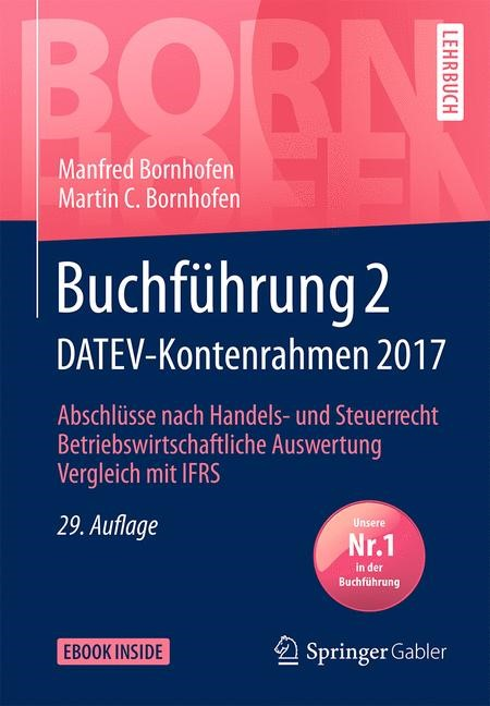 Buchführung 2 DATEV-Kontenrahmen 2017 | Bornhofen / Bornhofen | 29. Auflage, 2018 | Buch (Cover)