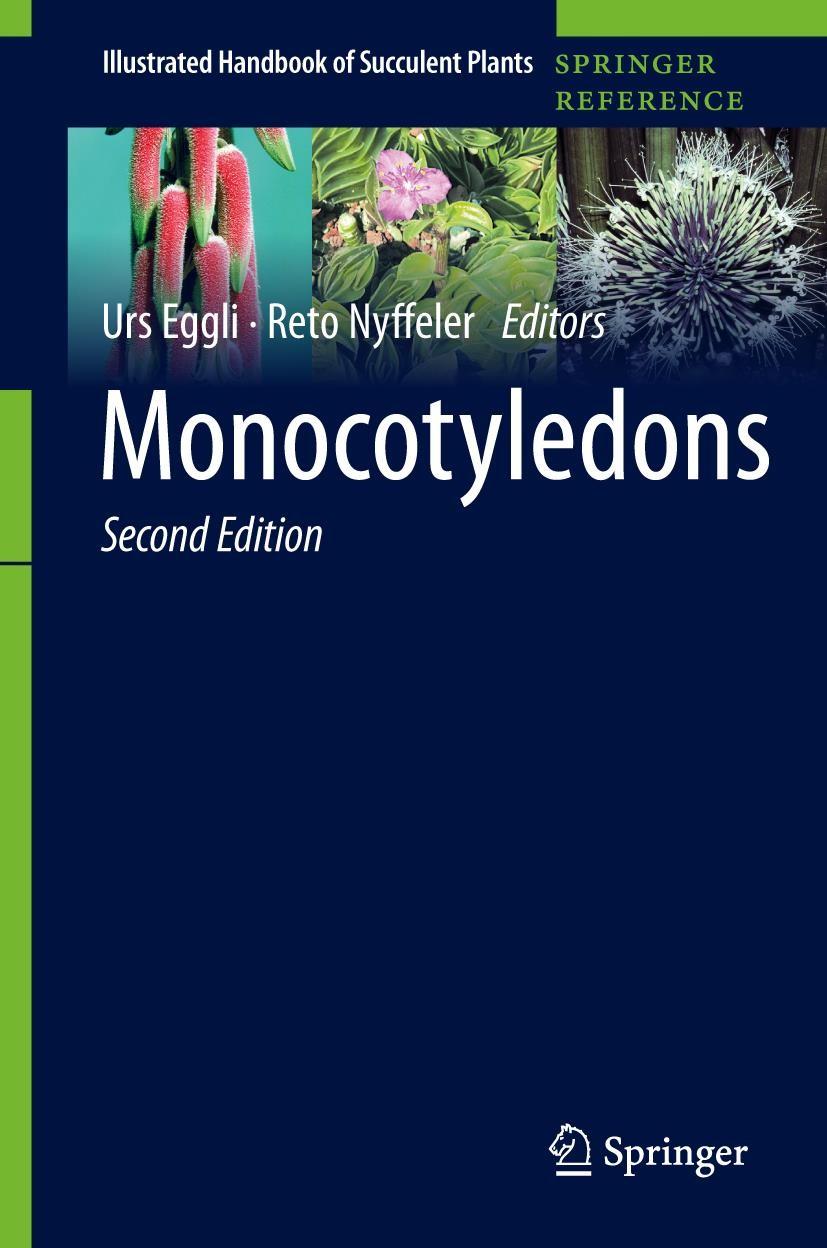 Monocotyledons | Eggli / Nyffeler | 2nd ed. 2019, 2019 | Buch (Cover)