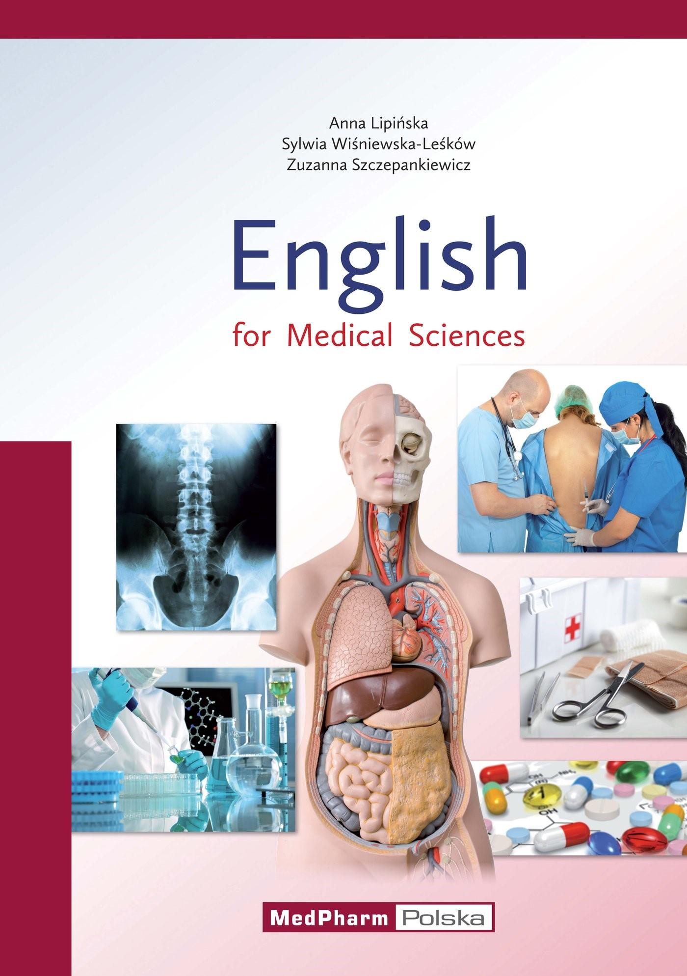 English for Medical Sciences   Lipinska / Wisniewska-Lesków / Szczepankiewicz, 2017   Buch (Cover)